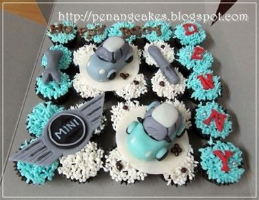 mini cooper cupcakes