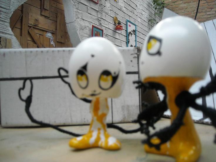os Kbça D' ovo!: Toys Nep, Toy Art, Art Toys, Toys Art