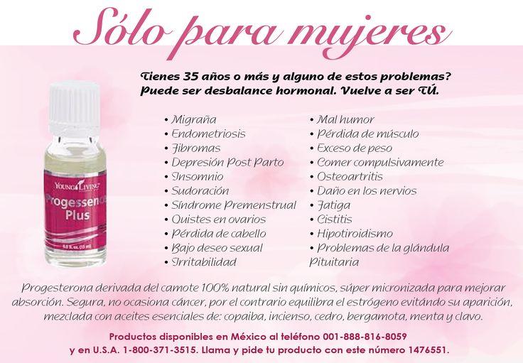 Young Living Progessence Plus información en español.