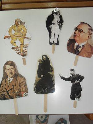 ...Το Νηπιαγωγείο μ' αρέσει πιο πολύ.: Μαθαίνουμε την ιστορία της 28ης Οκτωβρίου με κουκλοθέατρο