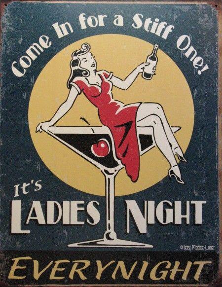 "1955 Field & Stream 13'    Restored back to 1950's retro         ""Happy Hour at Ladies' Night"""