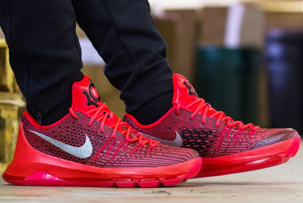 Nike KD 8 V8 Bright Crimson post image
