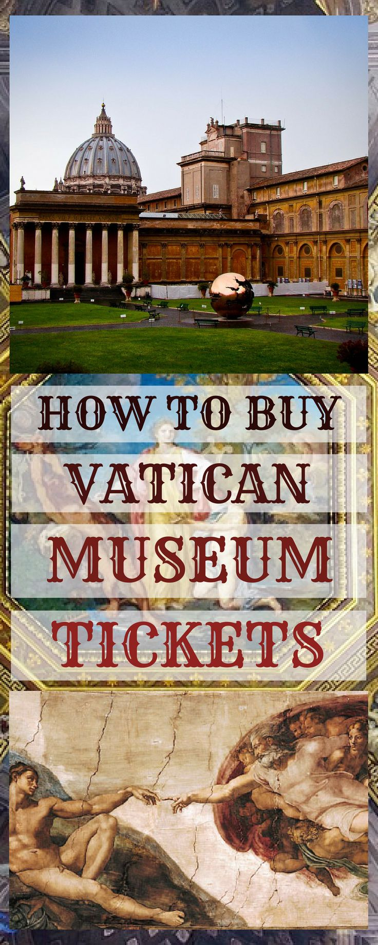 When it comes to Rome's best known attractions, nothing can beat the famous Vatican City with it's museums and cathedrals. In this article - Vatican Museum tips and ticket advice - how to get cheapest tickets, skip the line and access Saint Peter's Cathedral without queue