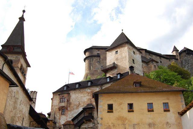 #slovakia #slovinsko #hrad #castle #orava