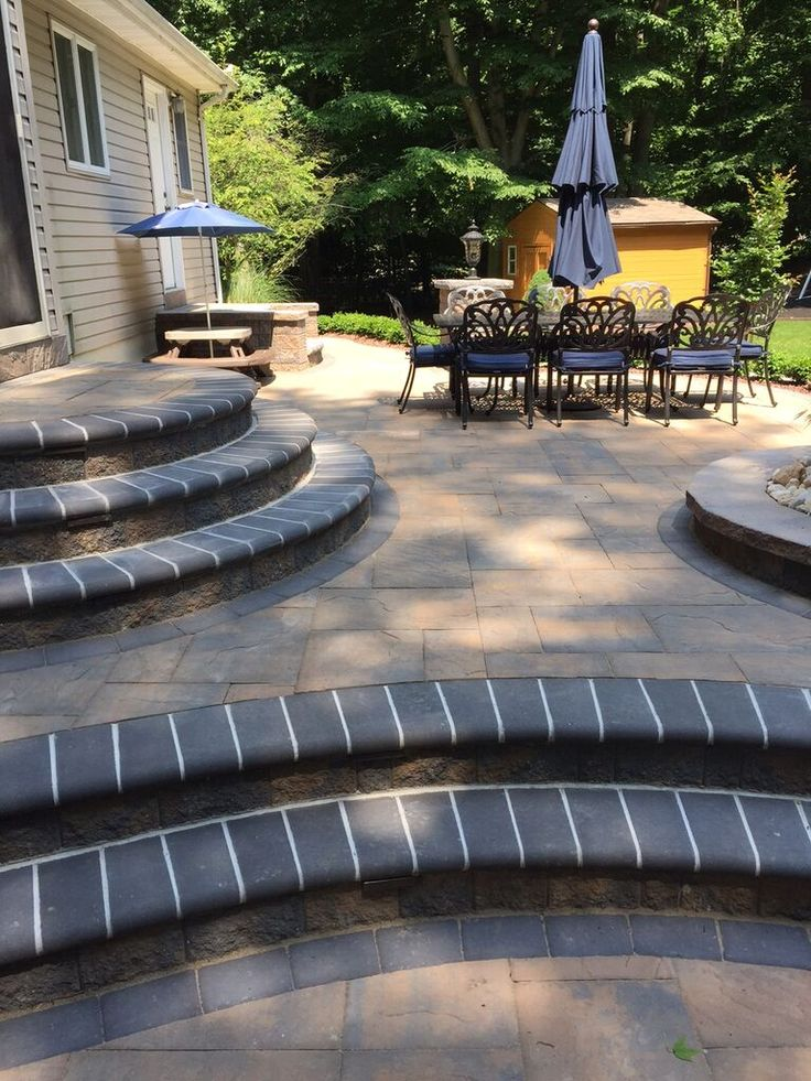 Installed With Cambridge Pavingstones With ArmorTec, This Beautiful,  Dynamic Patio Is Perfect For Family