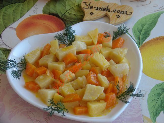 Zeytinyağlı Portakallı Kereviz Resimli Tarifi - Yemek Tarifleri