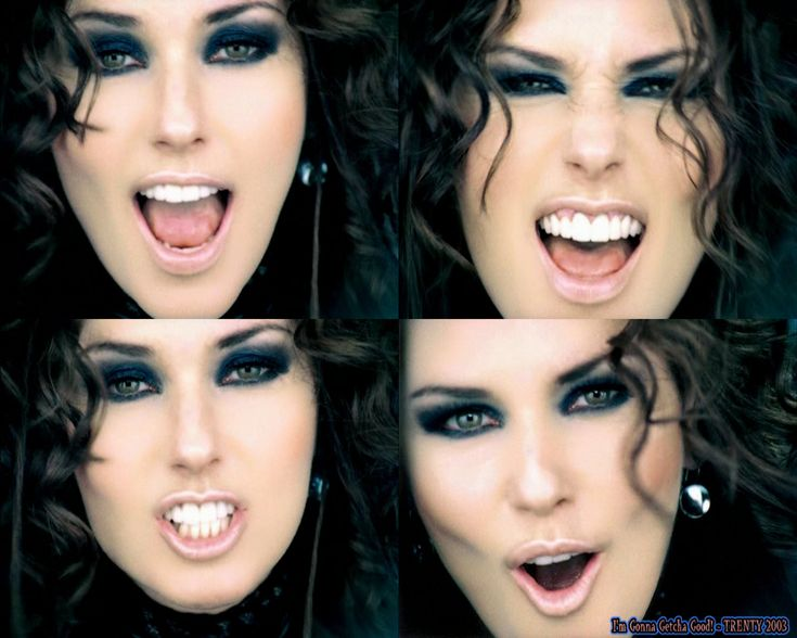 Shania Twain Bad Teeth