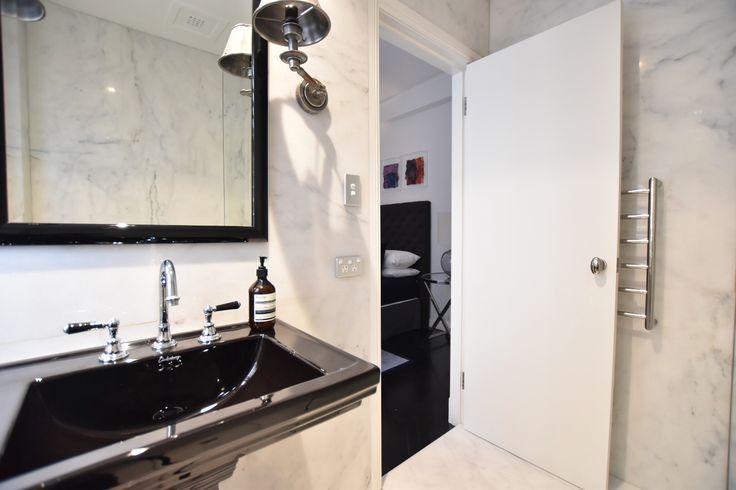 Sydney Bathroom Interior Design in Carrara Marble