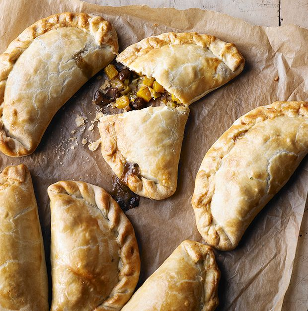Ring the changes with these chestnut, butternut squash and leek pasties. Perfect for a warming autumn lunch or picnic.