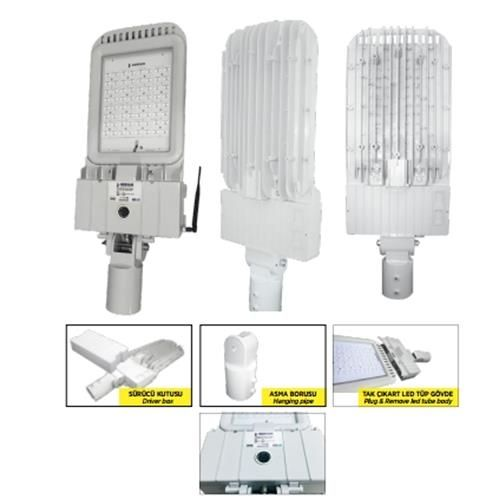 Ger-Led Street Lighting Systems With Camera - Led Bus System