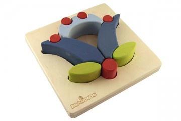 """zabawki - inne-Klocki drewniane """" KASZU TULIP THREE """""""