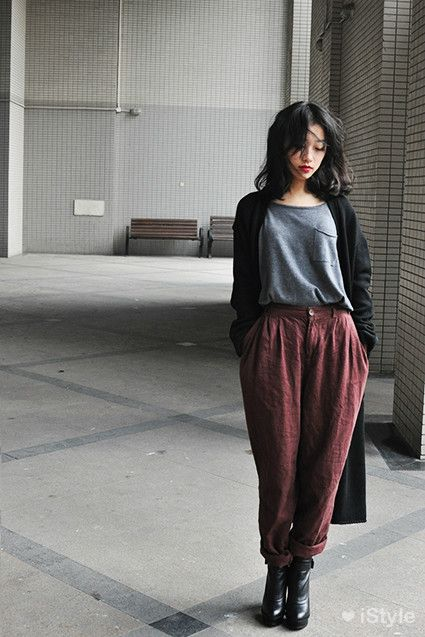 """""""I dunno, I guess we could just stand around looking vague...unless you wanna go buy some more of these awful pants and pretend they're fashionable...yeah, I like fucking with people too."""""""
