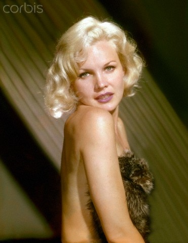 American actress Carroll Baker