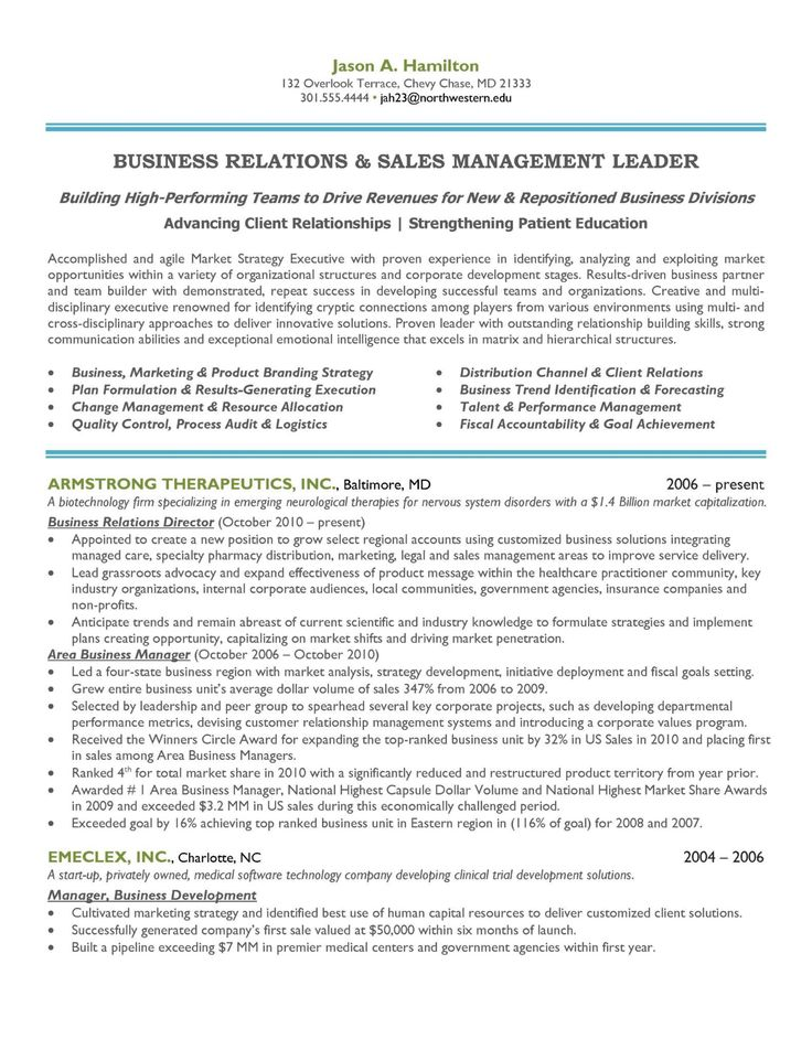 Marketing Sales Manager Resume How to draft a Marketing