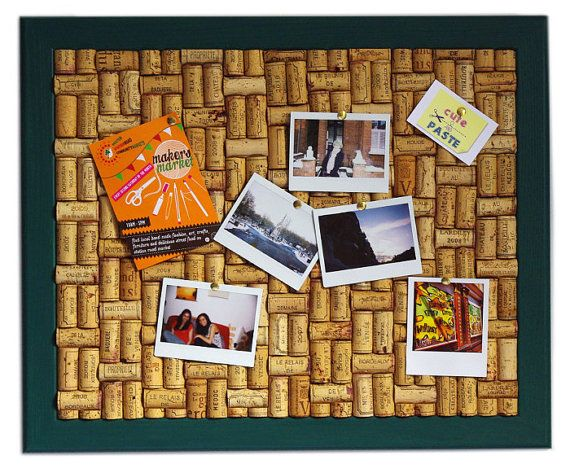 how to make a cork notice board