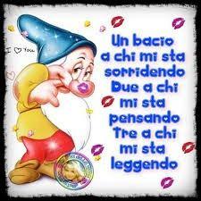 In bacio a chi......