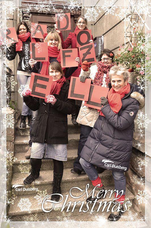 Frohe Weihnachten wünschen die Kollegen des Carl Duisberg Centrums in Radolfzell am Bodensee 2013