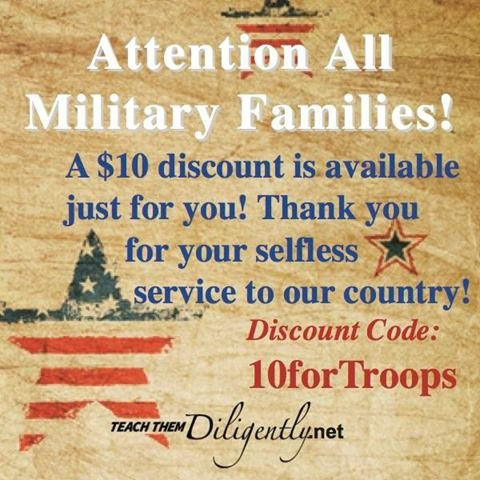 84 best support for military wives images on pinterest military teach them diligently coupon codes this weekend only military fandeluxe Choice Image