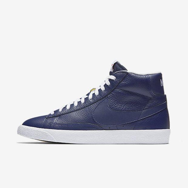 Best Drop Shipping Nike Blazer Lux Mens Skateboard shoes blue