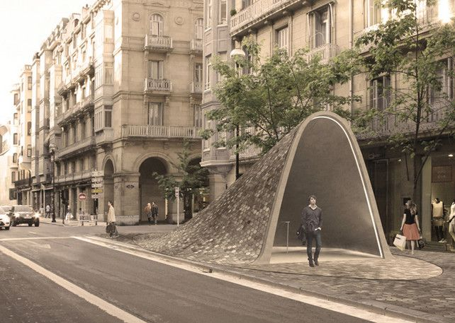 A Brilliant Reimagining Of The Humble Subway Station | Co.Design: business + innovation + design