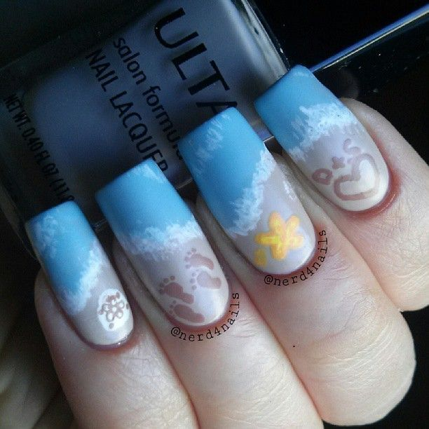 Uñas tropicales: 'Nail art' con atardeceres, mar, tortugas y hermosas playas (FOTOS) | Huffington Post