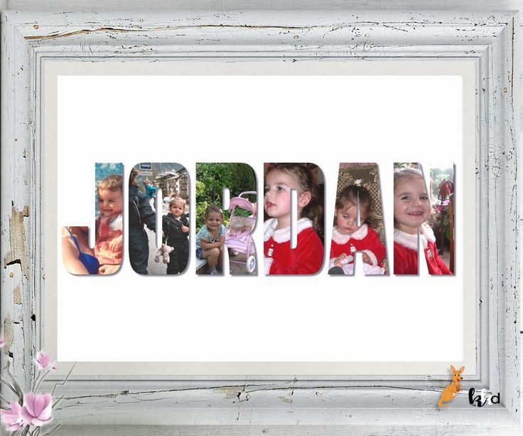 Photo Art, Photos to Art, Personalized Photo Gifts, Personalized Name Wall Art, Unique Photo Gifts, Photo Gifts, Personalized Gifts for Kids by KangarooKidsDesigns on Etsy