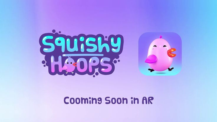 Squishy Hoops AR arcade mobile game.