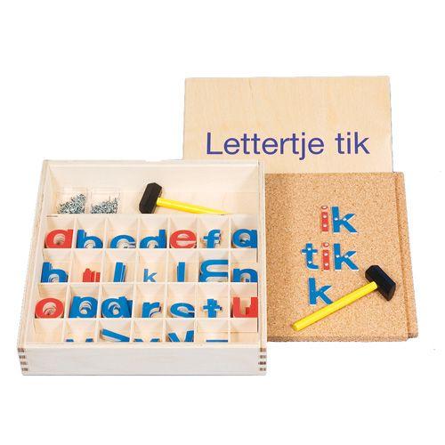 Lettertje tik | Educo kopen? | Heutink.nl