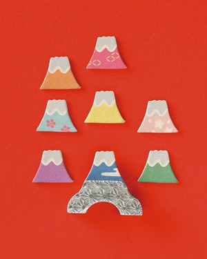 incenses shaped Mt. Fuji 中川政七商店 富士山印香
