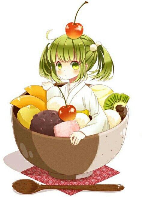 Fruits Salad Chibi