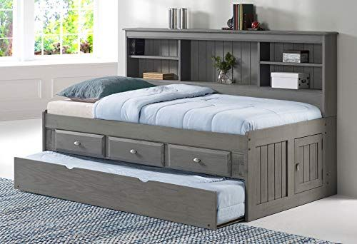 Discovery World Furniture Twin Bookcase Daybed With 3 Drawers And