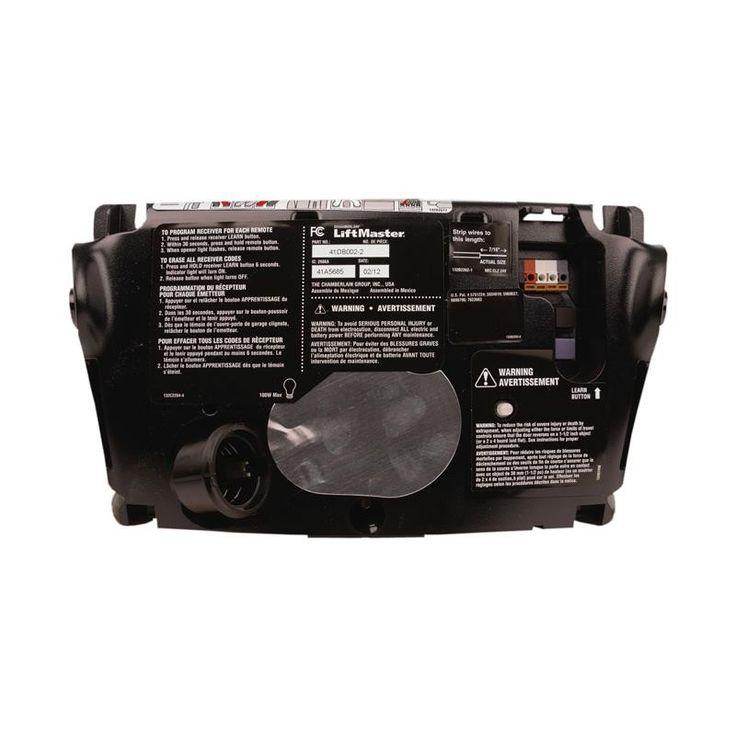 liftmaster 41db0022 garage door opener logic control board 315 mhz rp