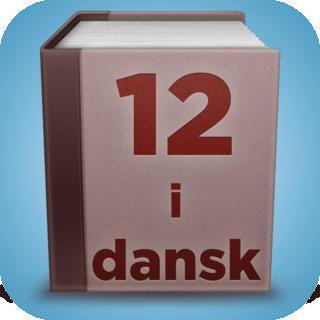 App'en er et slags opslagsværk, der er velegnet til udskolingens sidste klasser og til gymnasiet. Det er en app, der kan løse lige-nu-og-her problemstillinger i arbejdet med dansk, der er så tilpas tekst-tung, at man som bruger har en fornemmelse af at blive hurtigt og overordnet informeret om forskellige emner. 12 i dansk er bestemt en relevant værktøj for mange discipliner i danskfaget, da app'en kan anvendes som opslagsværk til både skønlitterære og faglitterære analyseværktøjer.