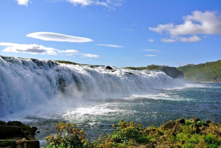 Faxafoss is a little waterfall hidden away. South #Iceland.