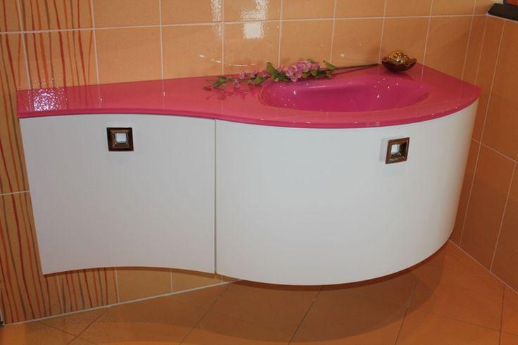 su Arredo Bagno Rosa su Pinterest  Dormitorio arredo bagno, Bagno ...