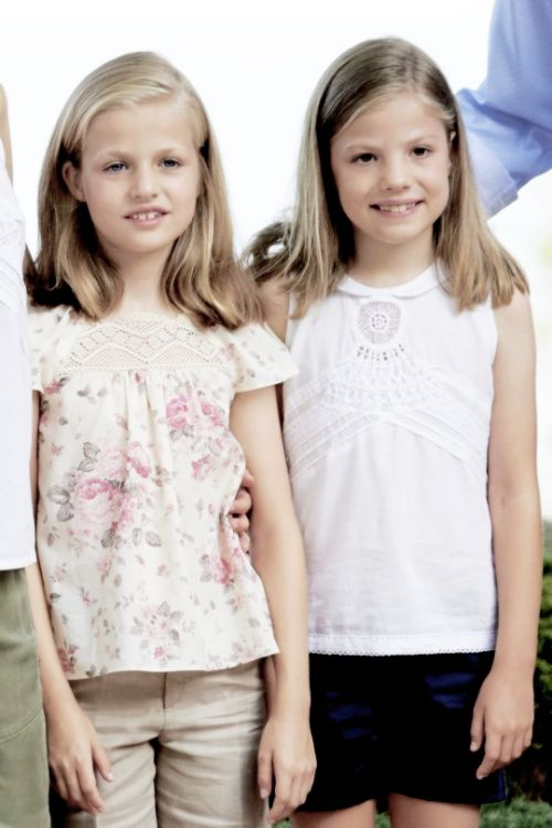 infantka Leonor i infantka Sofia