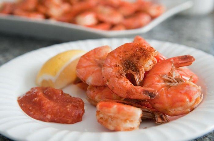 Old Bay and Beer Steamed Shrimp