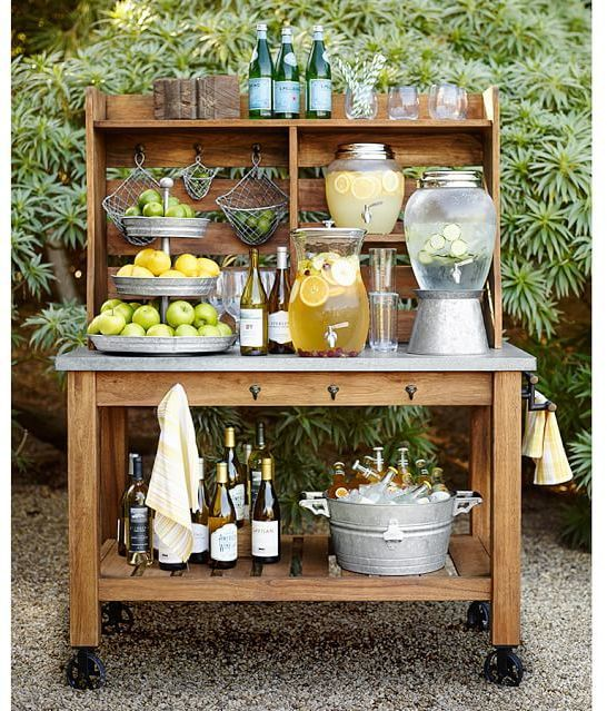 Trending On ShopStyle - Pottery Barn Galvanized Metal Tiered Stand - ShopStyle Home