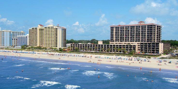 Compass Cove Oceanfront Resort in Myrtle Beach is a popular hotel that's home to over 500 rooms.