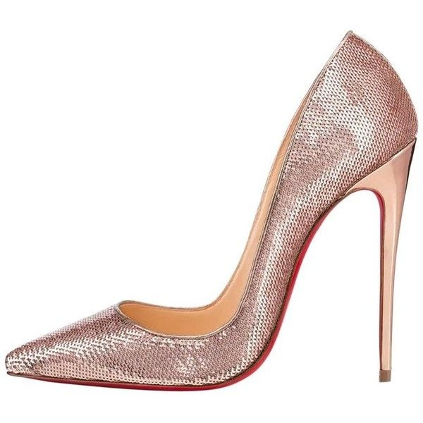 Preowned Christian Louboutin New Rose