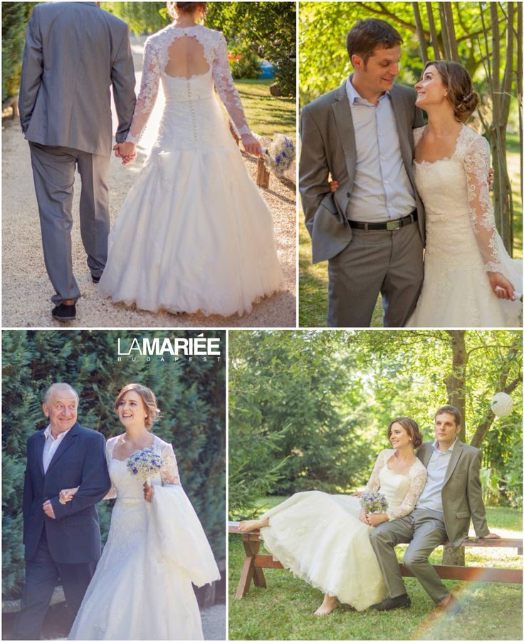Basico esküvői ruha - Pronovias kollekció - Ildikó menyasszonyunk  http://lamariee.hu/eskuvoi-ruha/pronovias/basico