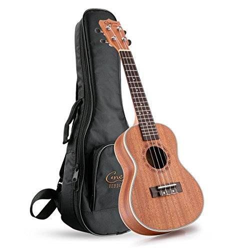 nice Hricane UKS-1 Matte Concert 23inch Professional Ukulele Starter Small Guitar Pack with Gig Bag