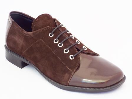 Pantofi dama NELY maro din piele naturala. la pretul de 129 RON. Comanda Pantofi dama NELY maro din piele naturala. de la Biashoes!