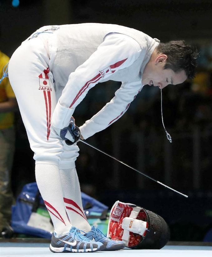 【五輪フェンシング】太田、地元ブラジル選手に初戦敗退 #リオ五輪