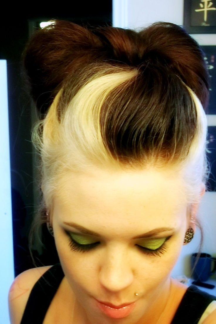 best 25+ two toned hairstyles ideas on pinterest | two toned hair