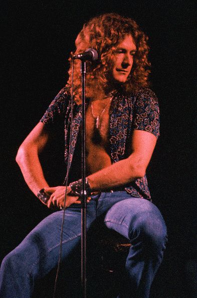Robert Plant, 1977. Photo © Henry Diltz.
