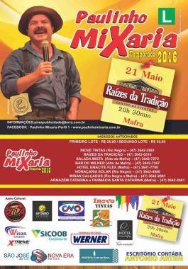Show Paulinho Mixaria