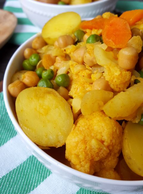 Curried Vegetable and Chickpea Stew | Yummies | Pinterest | Chickpeas ...