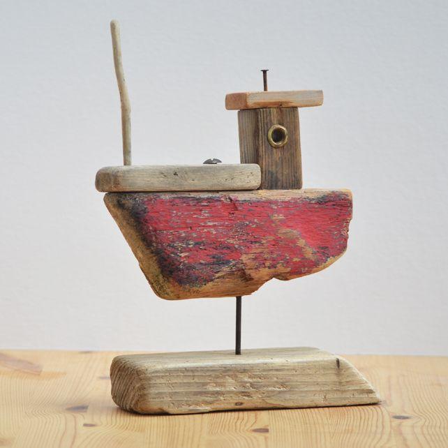Driftwood Fishing Boat 2