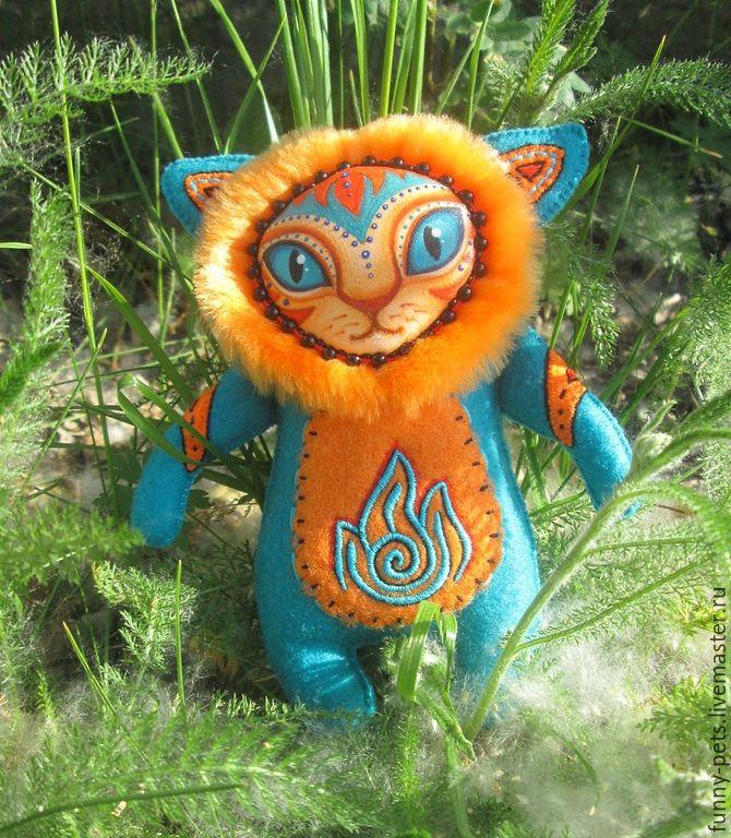 Купить Игрушка Лев (Огонь и Вода) - разноцветный, лев, игрушка для детей…